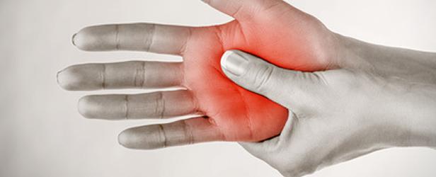 fájdalom a kézkezelésben a gyűrűs ujj ízületében glükózamin és kondroitin készítmények